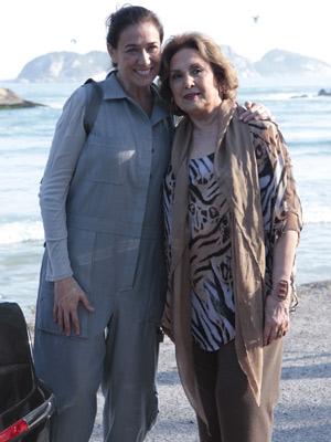 Lilia Cabral e Eva Wilma (Foto: Fina Estampa/ TV Globo)