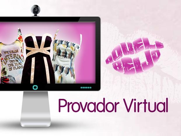 provador virtual (Foto: aquelebeijo/tvglobo)
