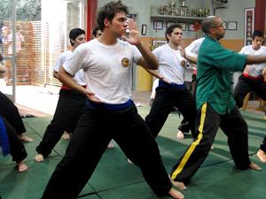 Kung fu Betão Malhação (Foto: Malhação / TV Globo)