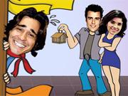 Ajude Áureo a ficar com Celeste e Josué (Morde e Assopra / TV Globo)
