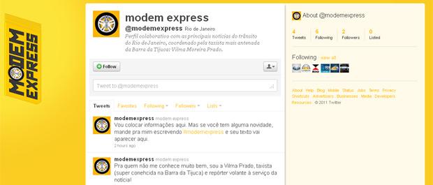 A taxista mais antenada da Barra estreia nas redes sociais. Siga @modemexpress e confira! (Foto: Fina Estampa / TV Globo)