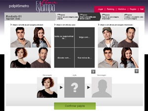 A primeira rodada está encerrada (Foto: Fina Estampa / TV Globo)
