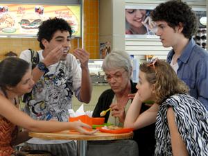 Felipe Haiut em cena Malhação (Foto: Malhação / TV Globo)