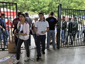 Enem entrada malhação (Foto: José Cruz / ABr)