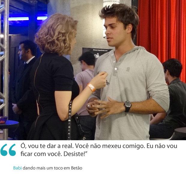 Frases da semana 8 Babi (Foto: Malhação / TV Globo)