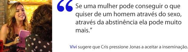 Cris (Foto: A Vida da Gente/TV Globo)