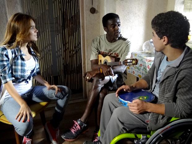 Natália, Fôjo e Jefferson malhação (Foto: Malhação / TV Globo)