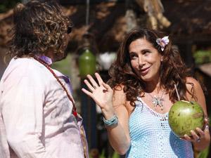 Totia e Wolf interpretam Álvaro e Zambeze (Foto: Fina Estampa/TV Globo)