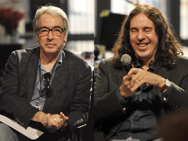 Alcides Nogueira e Geraldo Carneiro (Foto: O Astro/TV GLOBO)