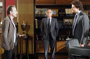 Márcio coloca Samir para fora do Grupo Hayalla e deixa o psicopata furioso (OAstro/TVGlobo)