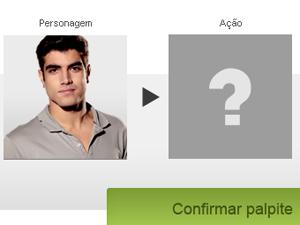 Terminou a primeira rodada (Foto: Fina Estampa / TV Globo)
