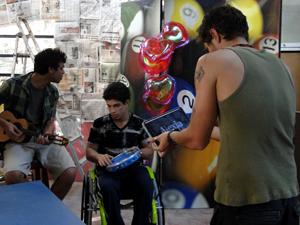 Jefferson, Dieguinho e Moisés Malhação (Foto: Malhação / TV Globo)