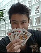 Mario Kamia  e o seu  truque final (OAstro/TVGlobo)