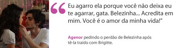 Agenor (Foto: Aquele Beijo/TV Globo)