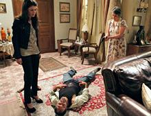 Conceição mata Neco ao proteger Lili (OAstro/TVGlobo)