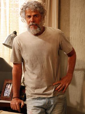 José Mayer como Pereirinha, o marido de Griselda  (Foto: Fina Estampa/ TV Globo)