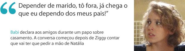 Frases da semana 10 babi (Foto: Malhação / TV Globo)