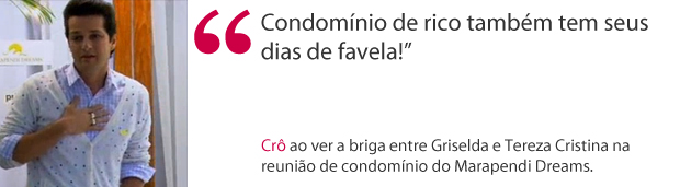 Frase Crô (Foto: Fina Estampa / TV Globo)