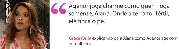 Grace kelly (Foto: Aquele Beijo/TV Globo)
