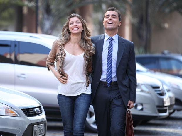 Grazi e Ricardo Pereira_foto de cena (Foto: Inácio Moraes/TV Globo)