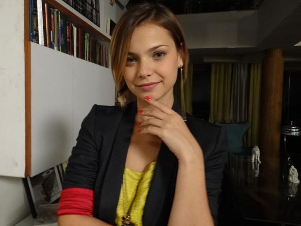 MIlena Toscano  (Foto: Fina Estampa/TV Globo)