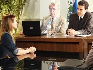 Beatriz assume que se relacionava com Guilherme (Foto: Fina Estampa/TV Globo)
