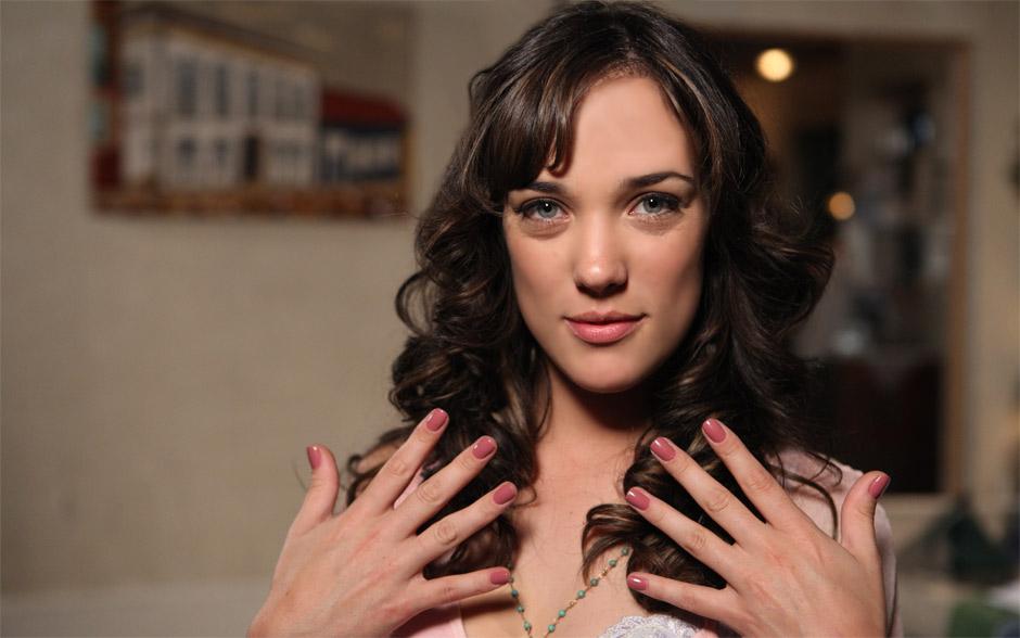 Romântica, Patrícia opta pelo tom de nude