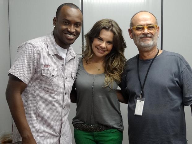 Thiaguinho, Fernanda Souza e Mario Marcio Bandarra (Foto: Malhação / TV Globo)