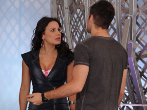 Rafa diz que jamais teria algo sério com Zuleika (Foto: Fina Estampa/ TV Globo)