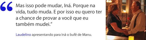 Iná (Foto: A Vida da Gente/TV Globo)