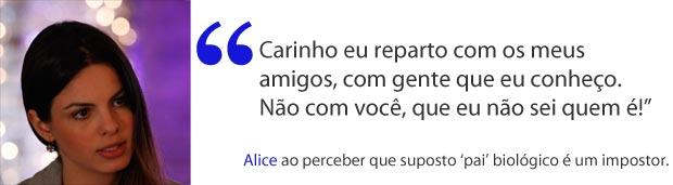 Alice (Foto: A Vida da Gente/TV Globo)