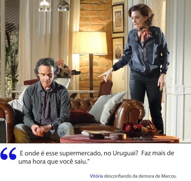 Vitória (Foto: A Vida da Gente/TV Globo)