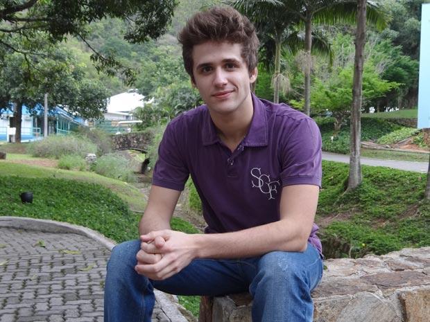 Gil Coelho bastidor (Foto: Malhação / TV Globo)