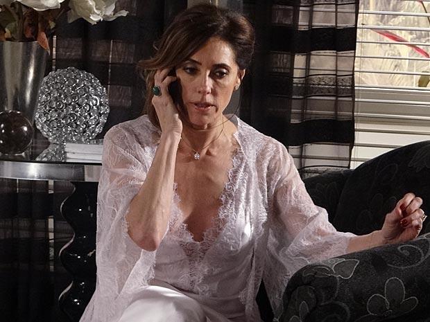 Tereza Cristina fica trincada com a ameaça de Marcela (Foto: |F)