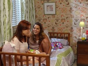 Débora e  Michele (Foto: Malhação/TV Globo)