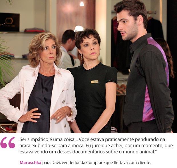 Maruschka (Foto: Aquele Beijo/TV Globo)