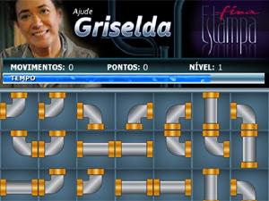 Ajude a consertar o encanamento (Foto: Fina Estampa/TV Globo)