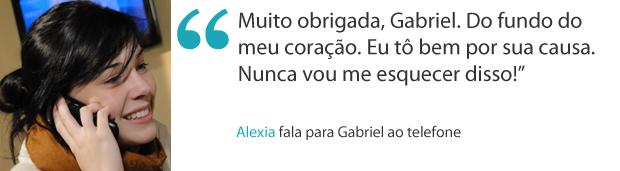 Frases da semana 13 alexia (Foto: Malhação / TV Globo)