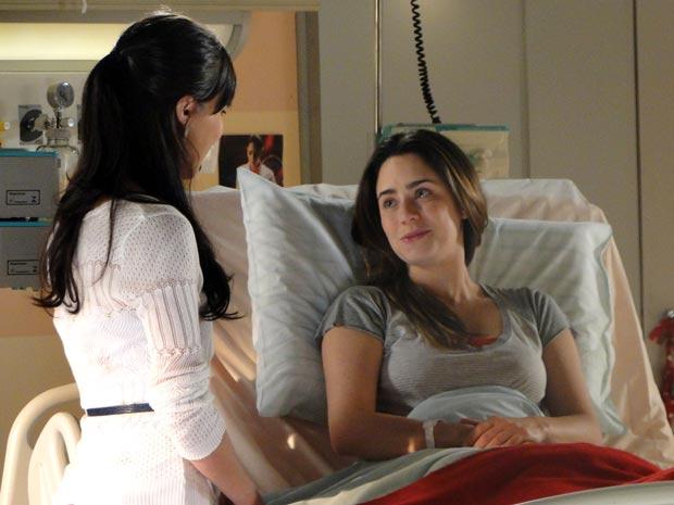 Ana só pensa em ver a filha (Foto: A Vida da Gente / TV Globo)