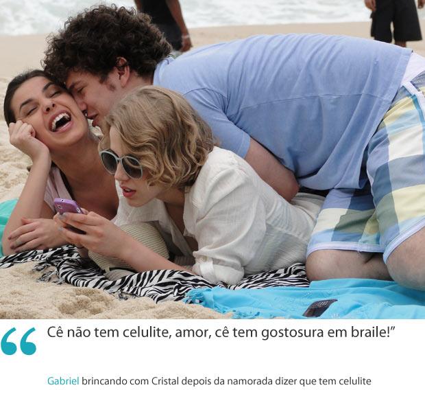 Frases da semana 13 gabriel (Foto: Malhação / TV Globo)