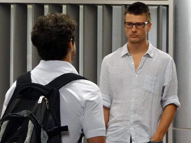 Antenor diz que vai se casar com Patrícia (Foto: Fina Estampa/ TV Globo)