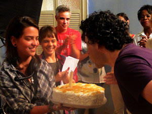 Bruno Garcia foto menor (Foto: Aquele Beijo/TV Globo)