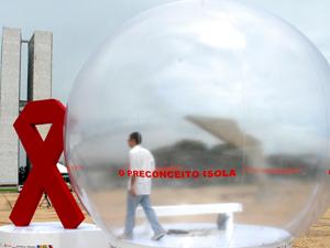 Aids preconceito isola Malhação (Foto: Antonio Cruz/ABr)