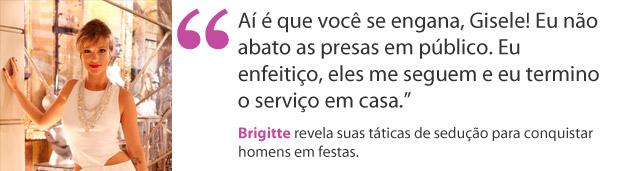 Brigitte (Foto: Aquele Beijo)