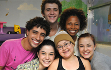 Elenco criou projeto para ajudar instituições  (Malhação / TV Globo)
