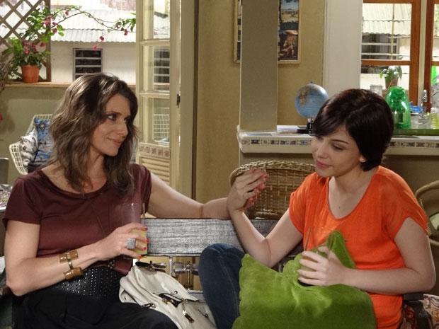 alexia diz que vai falar com a mãe (Foto: Malhação/TV Globo)