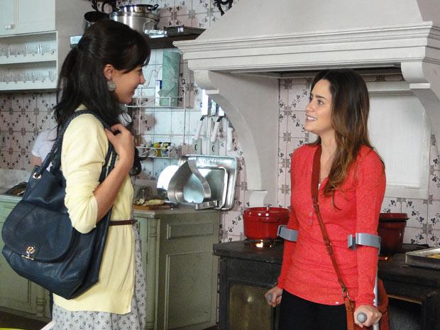 Ana pede ajuda a Manu para reconquistar a filha (Foto: A Vida da Gente/TV Globo)