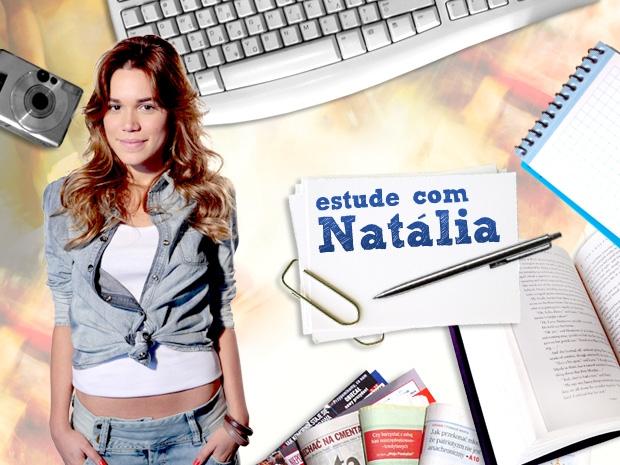Estude com Natália (Foto: Malhação / TV Globo)