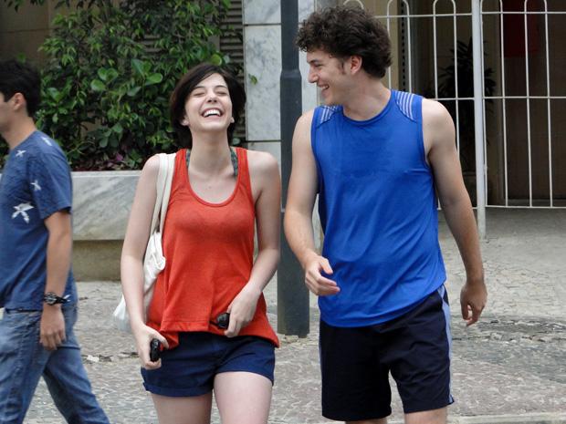 Alexia e Gabriel Malhação (Foto: Malhação / TV Globo)