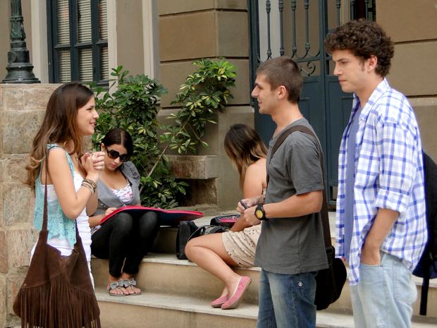Cristal, Tomás e Gabriel Malhação (Foto: Malhação / TV Globo)